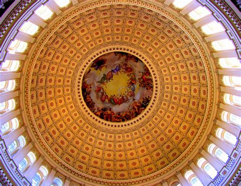 Who Is The Us Of The Interior by Inside The Dome Of The U S Capitol Building Washington
