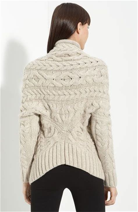 cable back knitting cabled cardigan by nordstrom the back of