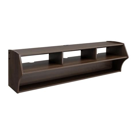 floating wall mounted 58 quot tv stand entertainment center