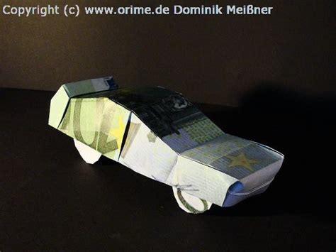 Auto Falten by Origami Geldscheine Und B 252 Cher Gefaltet Und Entworfen