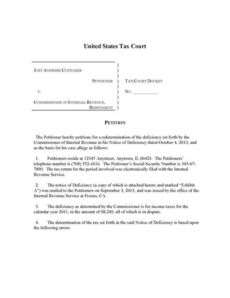 Ta Court Search Petition Letter For Court Search Engine At Search