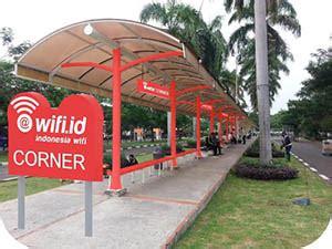 Wifi Id Corner wifi id corner akan hadir dengan kecepatan 100 mbps di bandara soekarno hatta