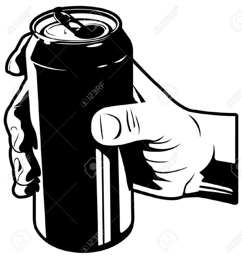 beer can cartoon soda clipart beer can pencil and in color soda clipart