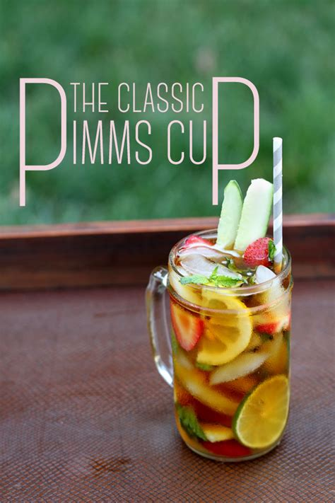 specialty cocktail pimm cup recipe storyboard wedding