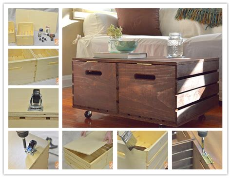 How To Build An Ottoman With Storage How To Make Diy Wooden Crate Storage Ottoman Step By Step Diy Tutorial How To