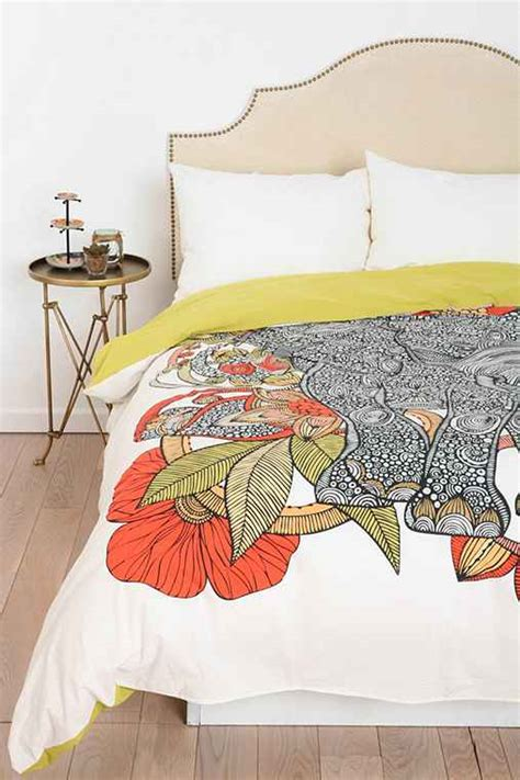 the elephant duvet cover by valentina ramos outfitters