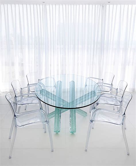 Clear Dining Room Table 17 Best Images About Transparent Furniture On Furniture Ideas Furniture And