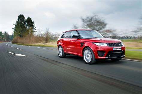 road sports car range rover sport svr 2015 review by car magazine