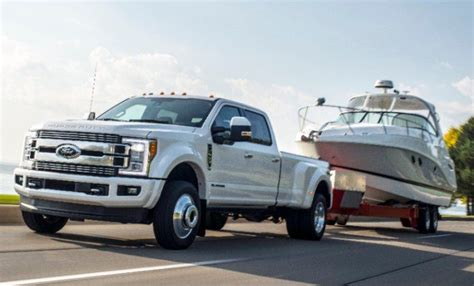2016 F350 Torque by 2018 Ford F250 F450 And F450 Diesels Offer Class Leading