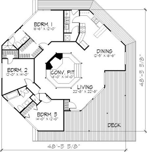 vacation house floor plans 3 bedroom 2 bath vacation house plan alp 06c0