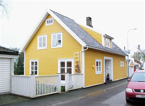 Yellow Home by Our Own Home The Yellow Brick House