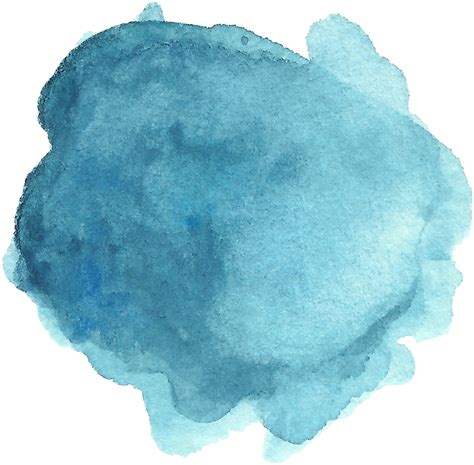 how to water color watercolor splotches