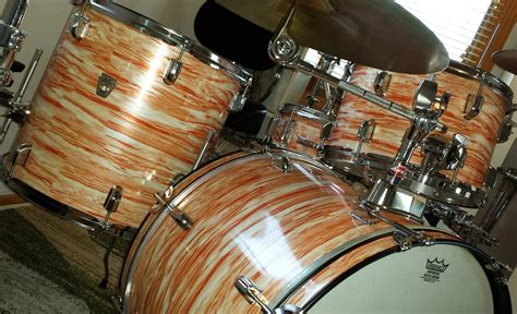 Pearl Wrap by Pink Oyster Pearl Drum Wrap Walopus Drum Wrap