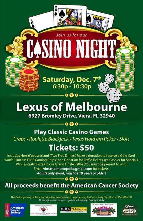 17 Best Images About Casino Night Fundraiser Ideas On Pinterest Invitation For Birthday Party Casino Fundraiser Flyer Template