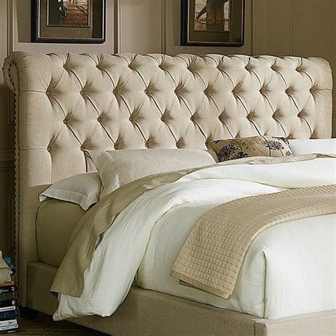 joss and main tufted headboard 8 piece bettie acacia seating group tufted bed