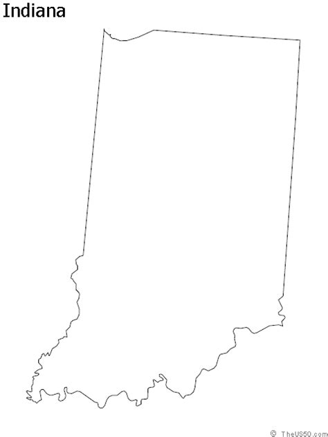 indiana state map coloring page 1000 images about state outline coloring sheets on