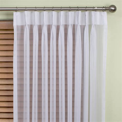 pleated curtain panels buy venice sheer pinch pleat curtains online decor2go