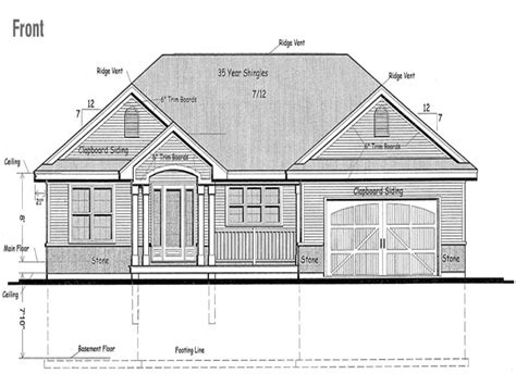 canadian house plans canadian ranch house plans raised raised bungalow canadian house plans raised bungalow house
