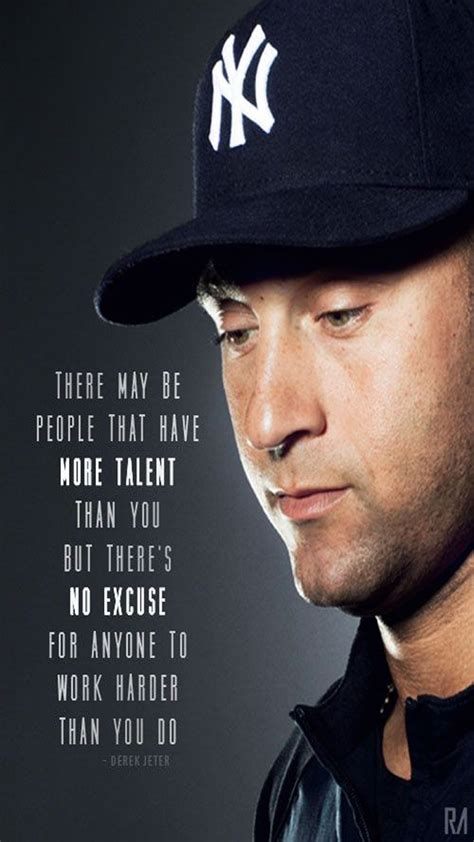 derek jeter hardwork quotes