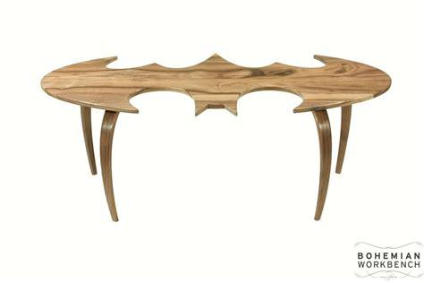handmade batman coffee tables by bohemian workbench