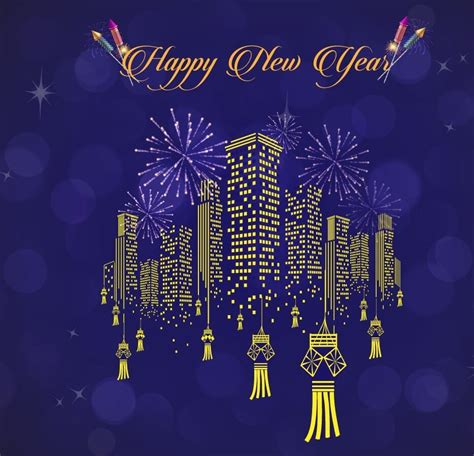 happy  year wishes  friends family  loved