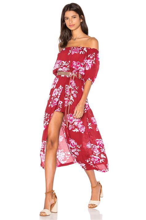 Maxi Rosita maxi dress in scarlet rosita cocktail affair