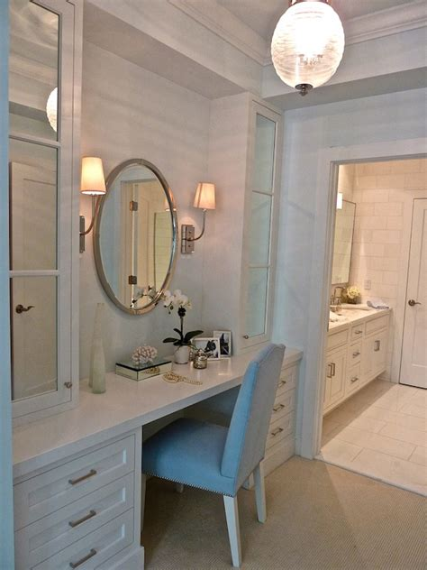 Walk In Closet Vanity by Kensett House Master Vanity