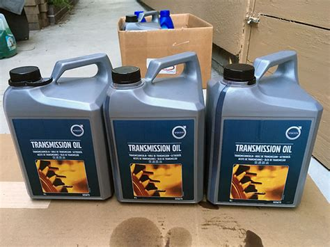 volvo s60 transmission fluid the o ring and crush washer for the t40 leveling bolt and