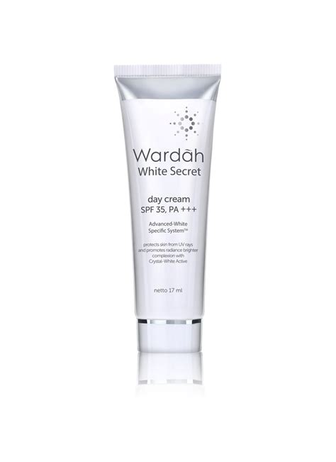 Wardah White Secret 17ml wardah white secret day tub 17ml klikindomaret