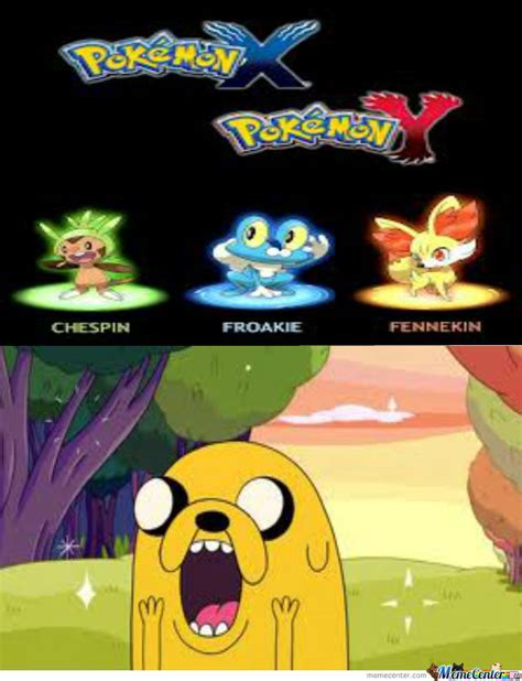 pokemon x and y by pokemon meme center