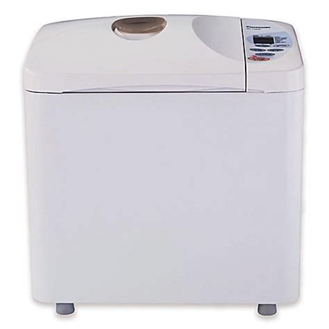 Dispenser Panasonic panasonic 174 programmable bread maker with yeast dispenser www bedbathandbeyond
