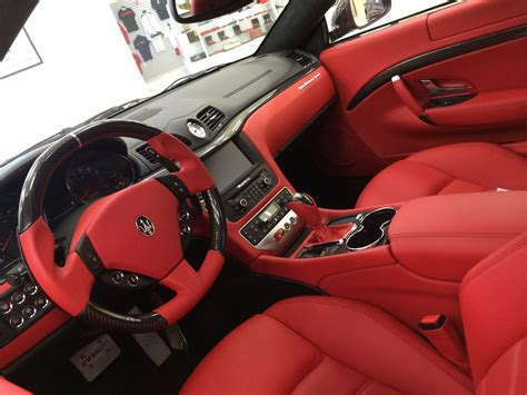 custom maserati interior white maserati granturismo interior search