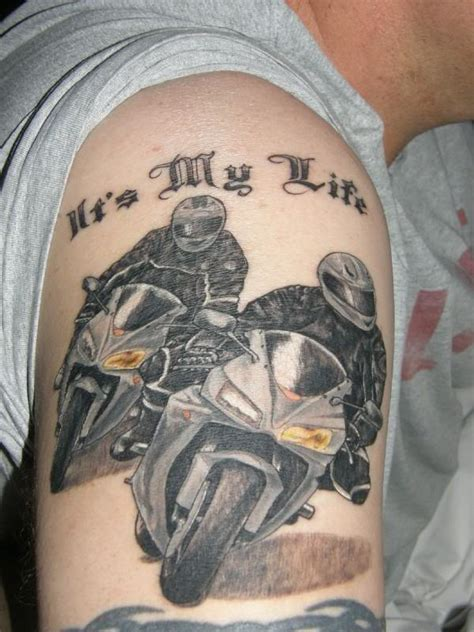 racing tattoos designs bike tattoos and designs page 18