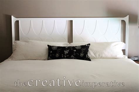 White Painted Headboard the creative imperative white painted headboard