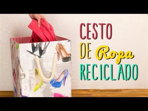 tecnicas para decorar cajas de carton cesto para ropa reciclado de caja de cart 243 n paso a