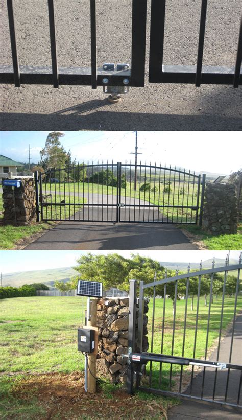 estate swing the estate swing 12 foot long single driveway gate made