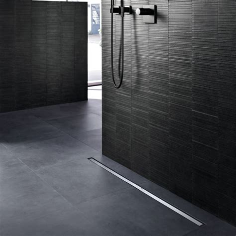 canalette doccia canalette geberit cleanline per docce a filo pavimento