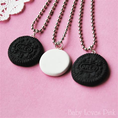 best for 3 oreo best friends necklace set of 3 r2f4