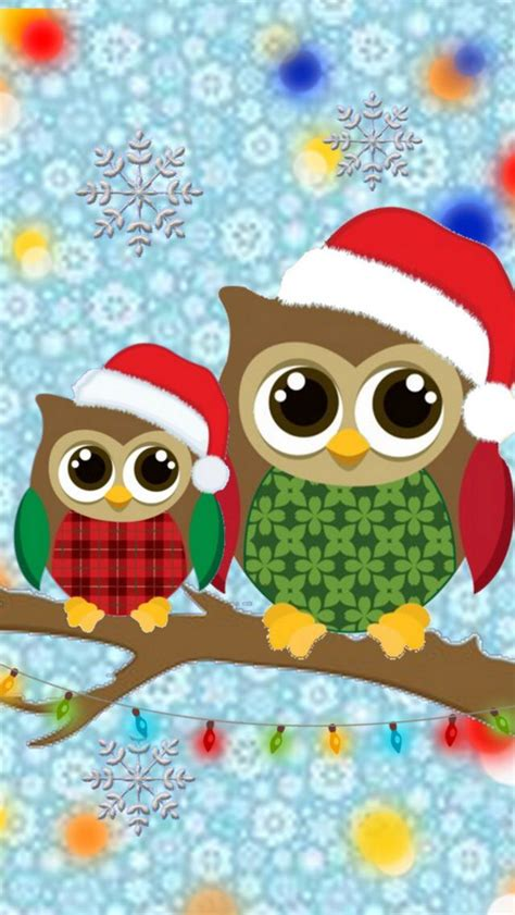 images of christmas owls christmas owls christmas backgrounds wallpapers