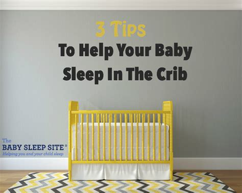 Getting Your Baby To Sleep In The Crib Tip Why Your Baby Won T Sleep In The Crib And 3 Tips To Help The Baby Sleep Site