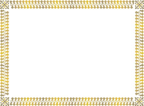 border for certificate template gold award certificate border free printable page borders
