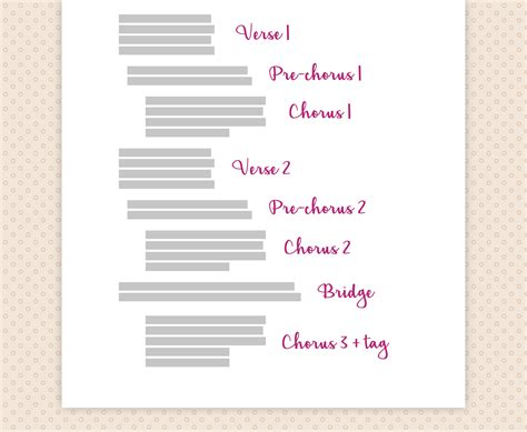 songwriting template pretty songwriting template images resume ideas