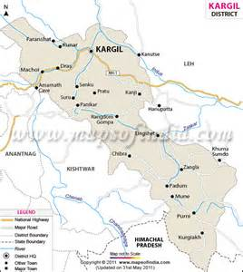 Time Table Sheet Kargil District Map
