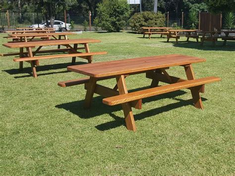 commercial outdoor picnic tables commercial picnic tables by billabong outdoor furniture