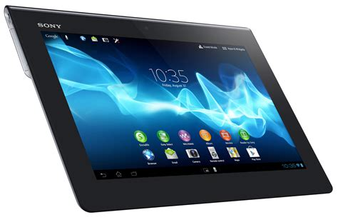 Tablet Sony sony embraces sandwich with new xperia tablet