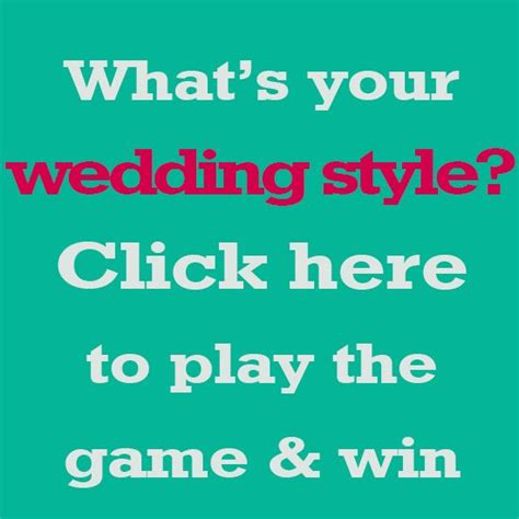 Wedding Budget Quiz by What S Your Wedding Style Find Out And Win A 500