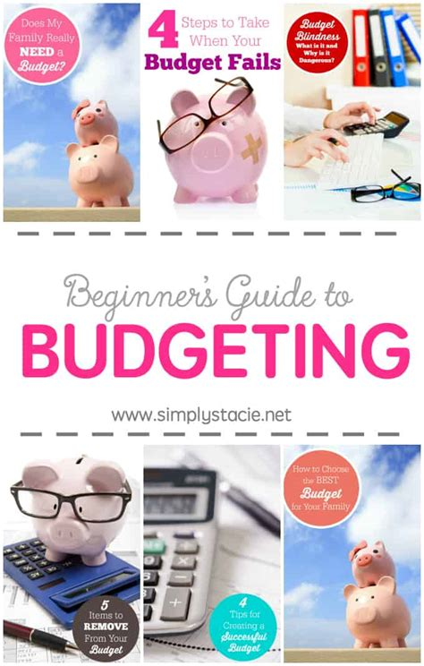 beginners guide  budgeting simply stacie