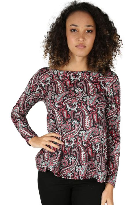 T Shirt Highest Box Flower swing top flared t shirt flower printed sleeve stretchy ebay