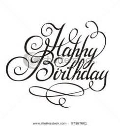 happy birthday calligraphy design elements calligraphy valentines typography