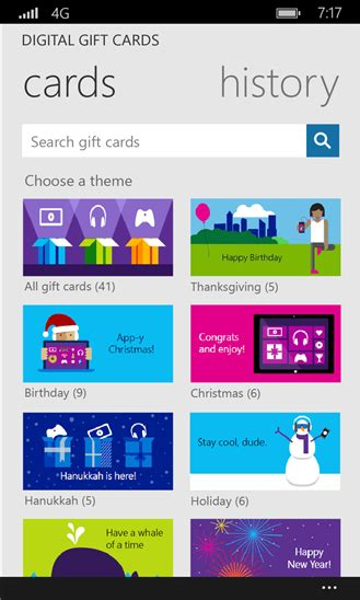 Buy Digital Gift Cards - digital gift cards now available for windows and xbox stores windows experience